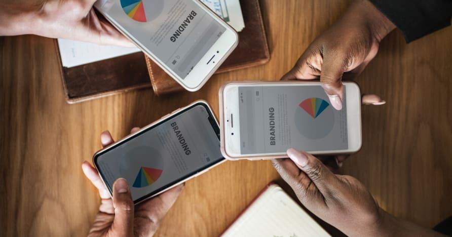 Giocare in un casinò PayPal su dispositivo mobile 2020